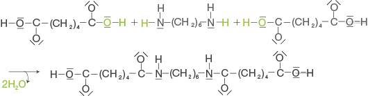 Kunststoffe: Polykondensation
