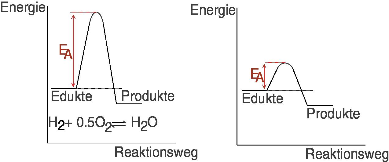 Chemische Gleichgewichte: Reaktionsgeschwindigkeit