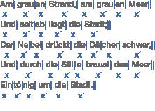 Gedichte: Metrik