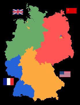 Weltpolitik nach 1945: Gründung der DDR