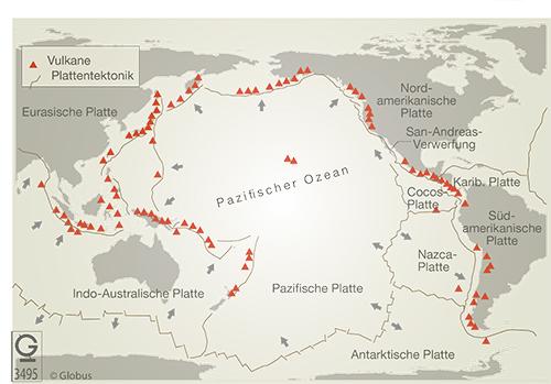 Lithosphäre: Folgen tektonischer Prozesse