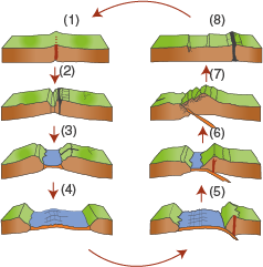 Lithosphäre: Tektonische Prozesse