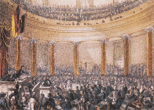 Deutsche Geschichte im 19. Jahrhundert: Revolution von 1848