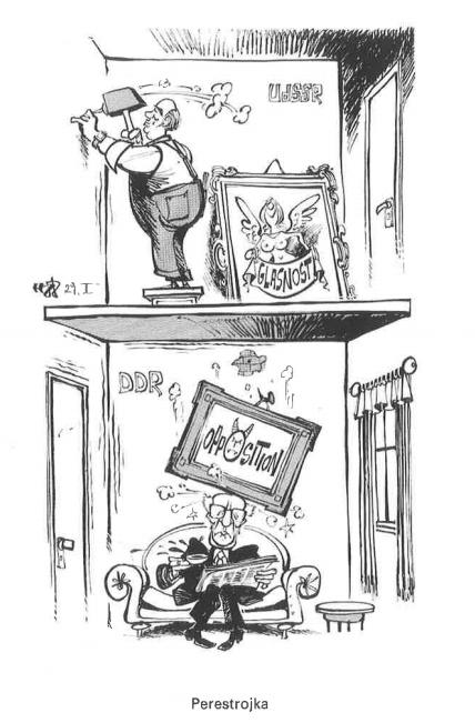 Besatzungszonen karikatur Klasse 10