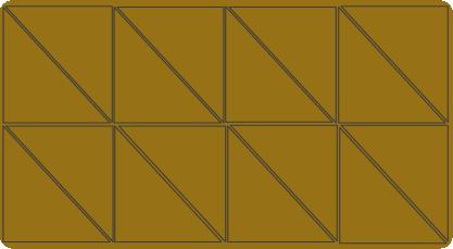 Flächen: Ergänzen und berechnen