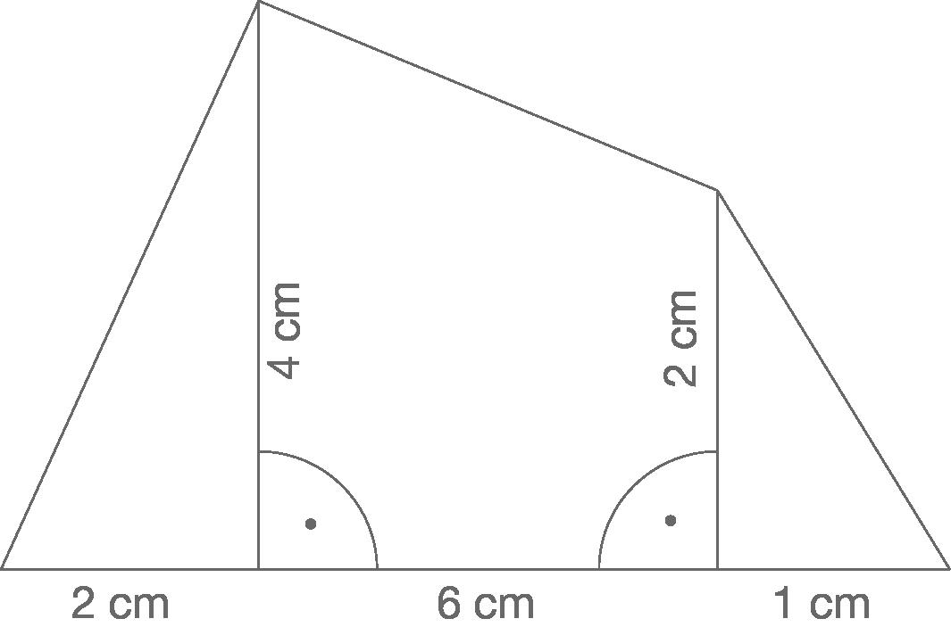 Flächeninhalt und Umfang: Allgemeine Vielecke