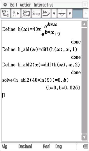 Analysis Prüfungsteil B