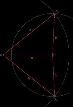 Geometrische Konstruktionen: Dreieckskonstruktionen