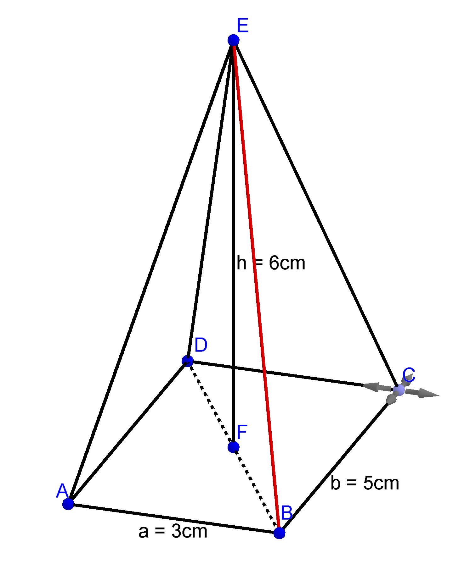 hnlichkeit und pythagoras berechnungen in k rpern digitales schulbuch mathe. Black Bedroom Furniture Sets. Home Design Ideas