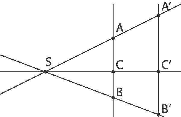 Geometrie: Strahlensätze