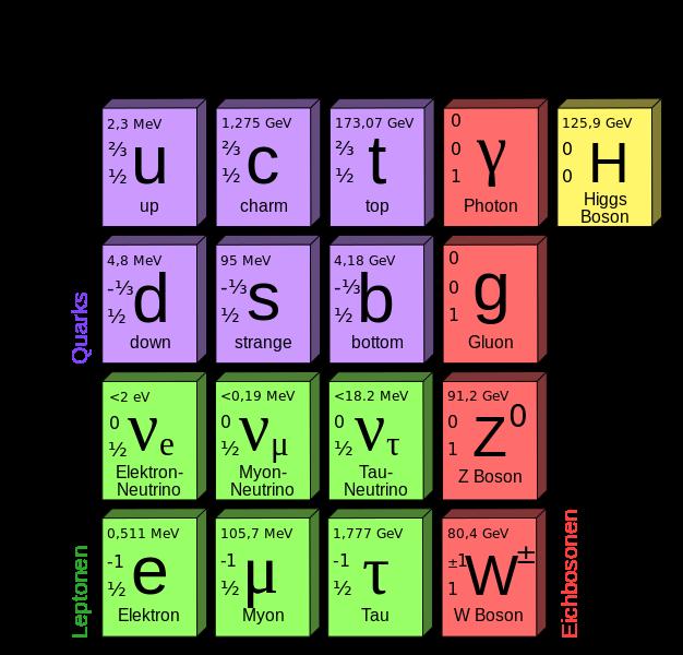 Kernphysik: Elementarteilchen
